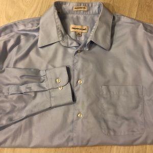 Pronto umo men's button down dress shirt